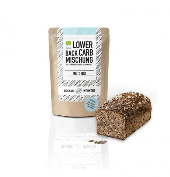 Bio Lower-Carb Brot-Backmischung - 350g Beutel