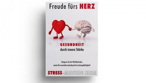 Freude fürs Herz-Poster DIN A4 zum Selbsteindruck