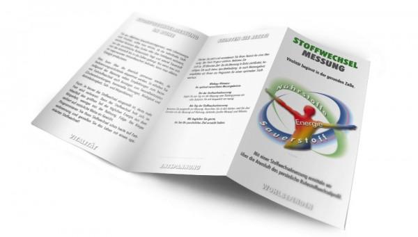Stoffwechsel Flyer DIN lang 6 Seiter