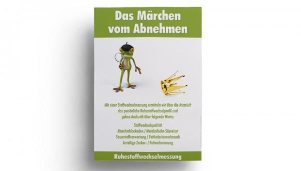 """Poster """"Das Märchen vom Abnehmen"""""""